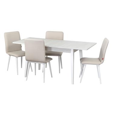 Столовая группа, стол Бейз, стулья Киви