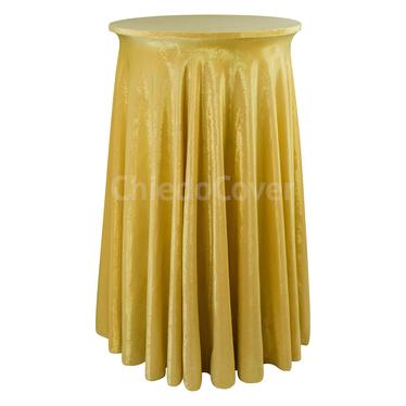 Чехол для стола 21 праздничный, золотой